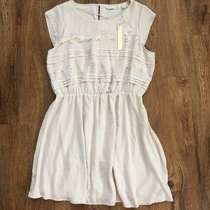 NWT Lauren Conrad Sunshine Scallop Dress Large L